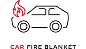 Logo Car Fire Blanket